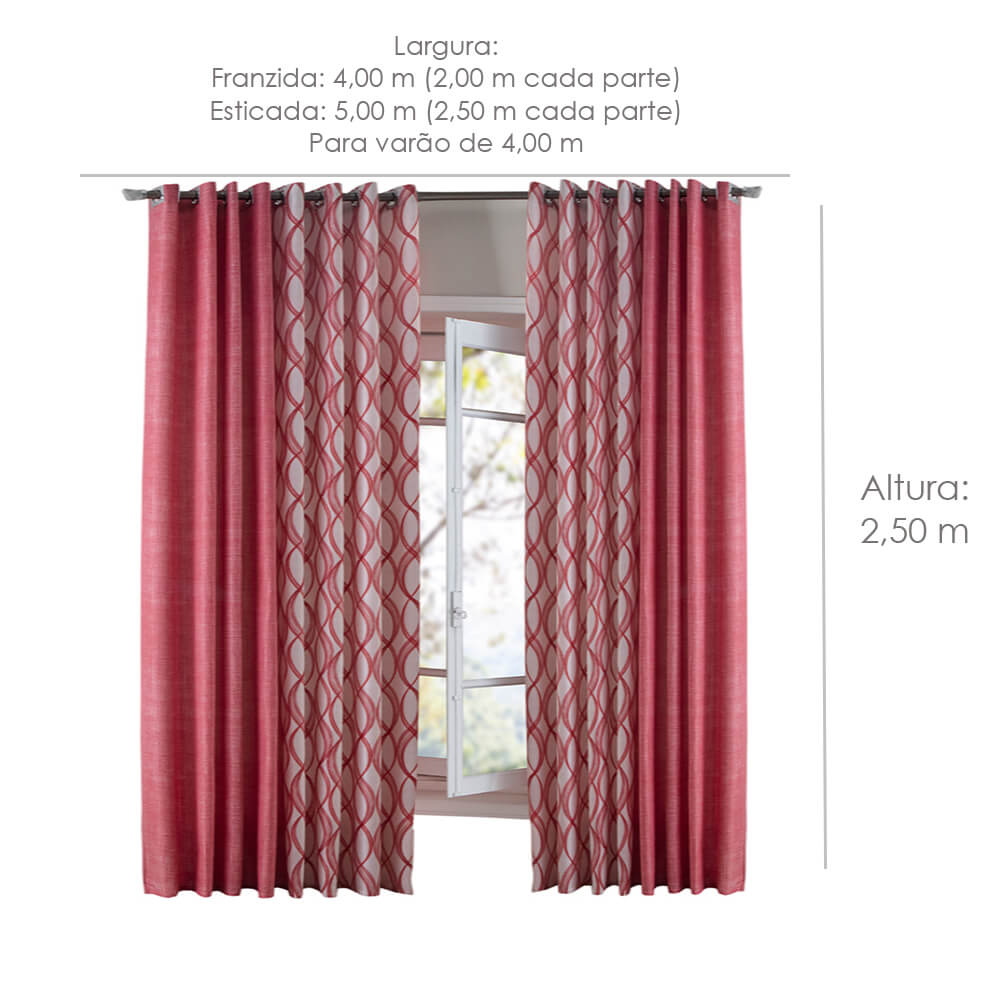 cortina para sala